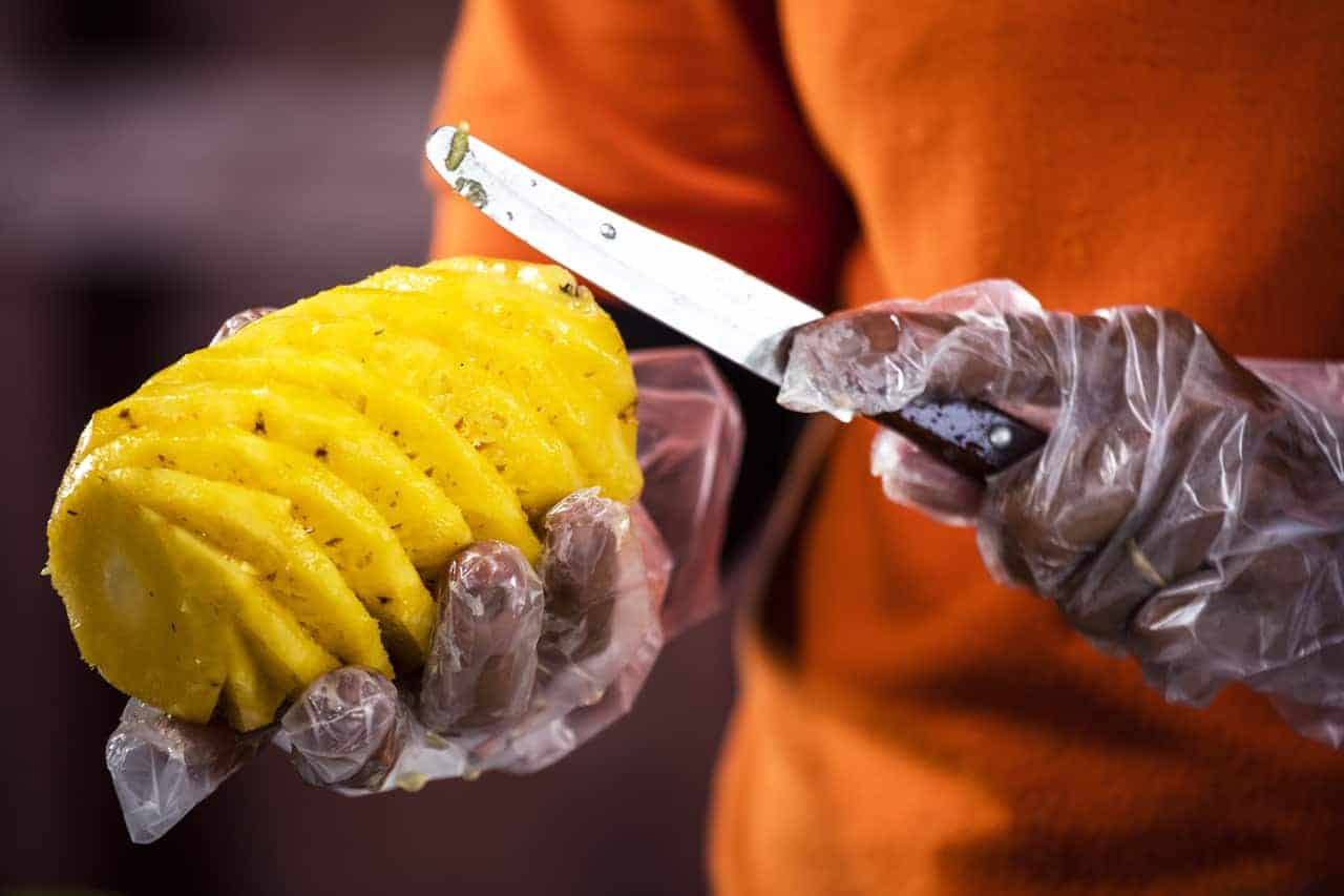 Fresh Cambodian Pineapple