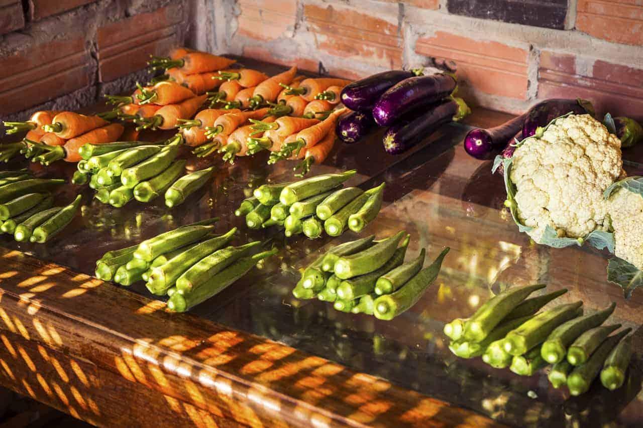 Organic Cambodian Vegetables
