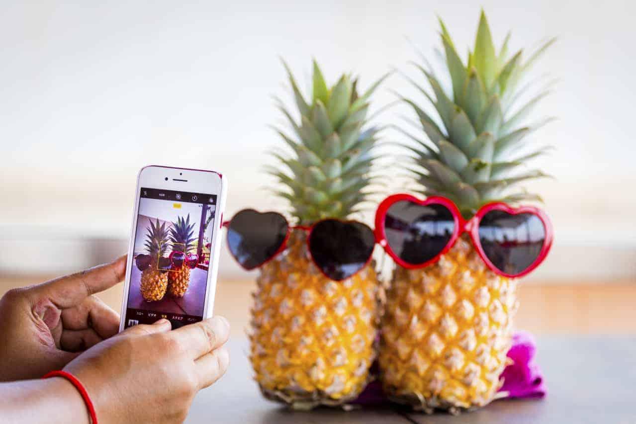 Pineapples in Glasses!